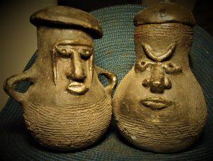 ceramiczne czarki urny