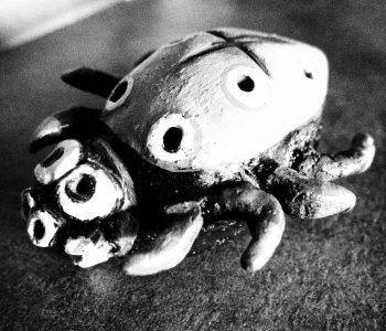 pająk ceramiczny